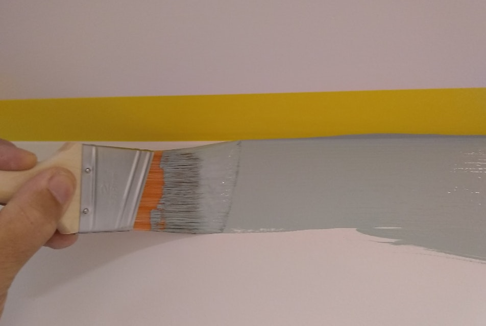 Tape: an Interior House Painter's Guide