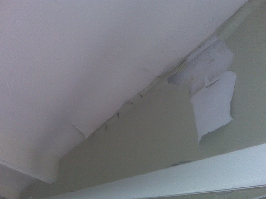Our Professional Painters Repair Water-Damaged Drywall