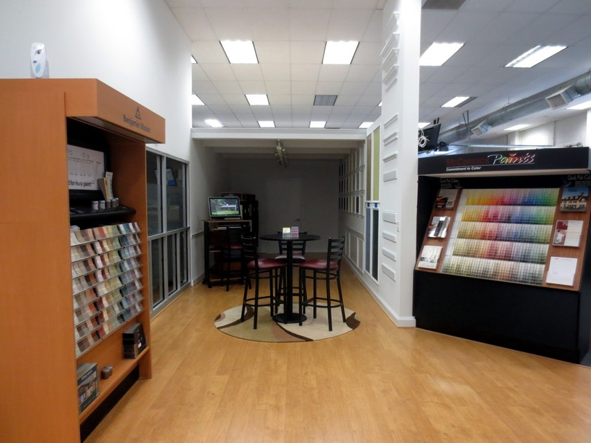 Commercial Design Services and Color Selection