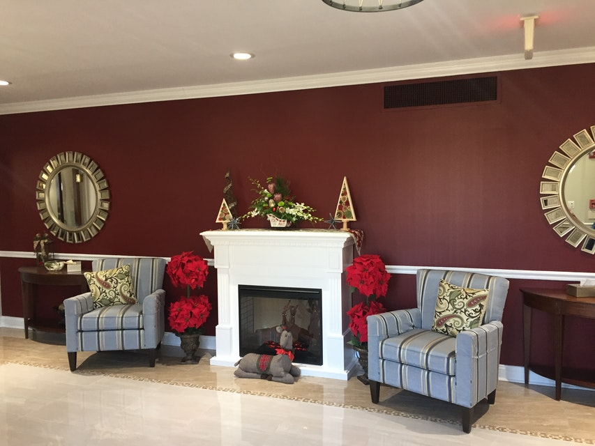 Funeral Home Painting