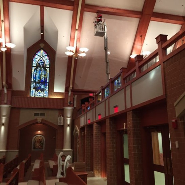 Church Painting in the Washington DC Area