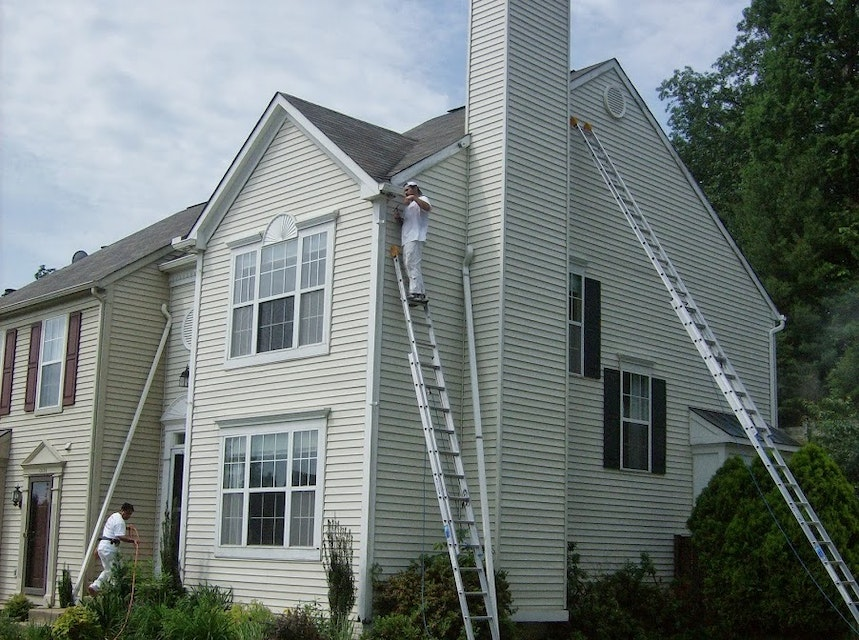 Exterior House Painting in Bethesda, Maryland