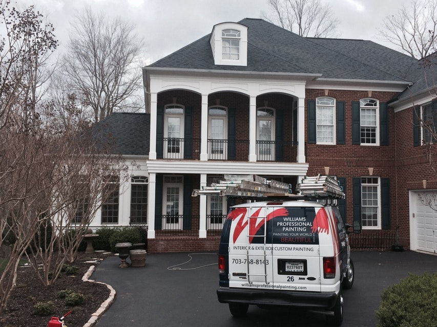 Exterior House Painting in Silver Spring, Maryland