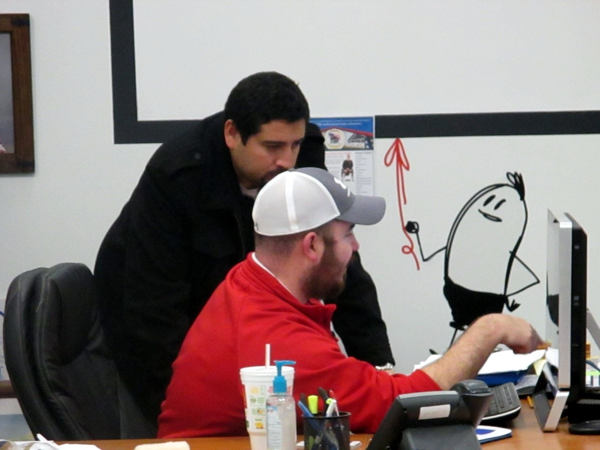 Our Team At Work