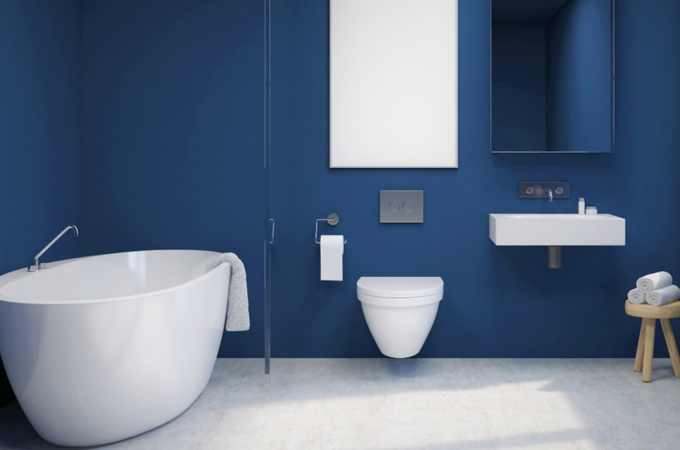 Should I Use Flat Paint in a Bathroom?