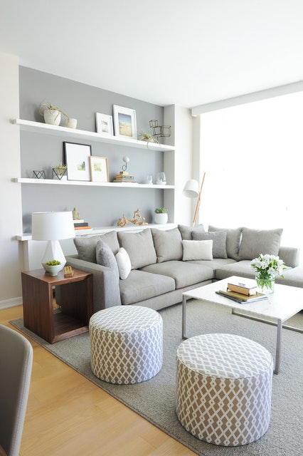 Gray, A Great Color Choice for Your Living Room