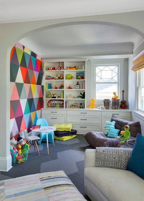 ​Fun and Easy Accent Walls for Kids' Rooms