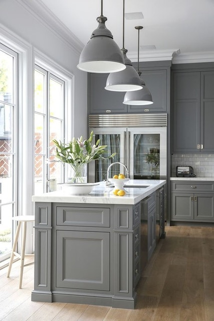 ​The New Trend in Painted Kitchen Cabinets